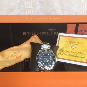 Stuhrling Original Men's Depth-Master Qrtz Watch